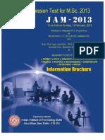 Jam2013 Brochure