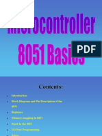 Microcontroller 8051 Final