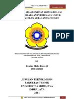 Tugas Mekanika Retakan Rendra Maha Putra Jf (03081005009)