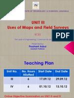 Unit III Maps