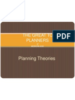 Planning Theories - Copy