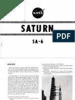 Saturn I SA-6 Rocket History