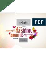Southspin FASHION AWARDS-Title Sponsor