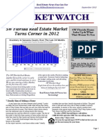 Real Estate Market Watch Newsletter September 2012