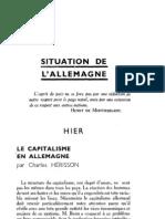 Esprit 5 - 1 - 193302 - Hérisson, Charles - Le capitalisme en Allemagne