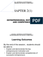 Chp2(1) - Entrepreneurial Motivation and Competencies