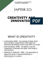 Chp2(2) - Creativity and Innovation