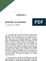 Esprit 5-5-193302 - Marc, Alexandre - Jeunesse Allemande