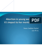 Abortion in Young Women