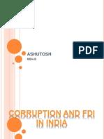 Corruption in FDI