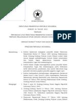 2010-Pp No 58 Th 2010 Ttg Perubahan Atas Peraturan Pemerintah Nomor 27 Tahun 1983 Tentang Pelaksanaan Kitab Undang-undang Hukum Acara Pidana