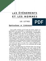 Esprit 5 - 17 - 193302 - Borne, Étienne - Spiritualisme et littérature