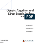 Genetic Algorithm Help File Matlab