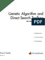 Genetic Algorithm Help File Matlab