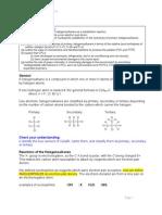 F322 Halogenoalkanes