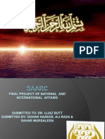 saarc introduction ppt