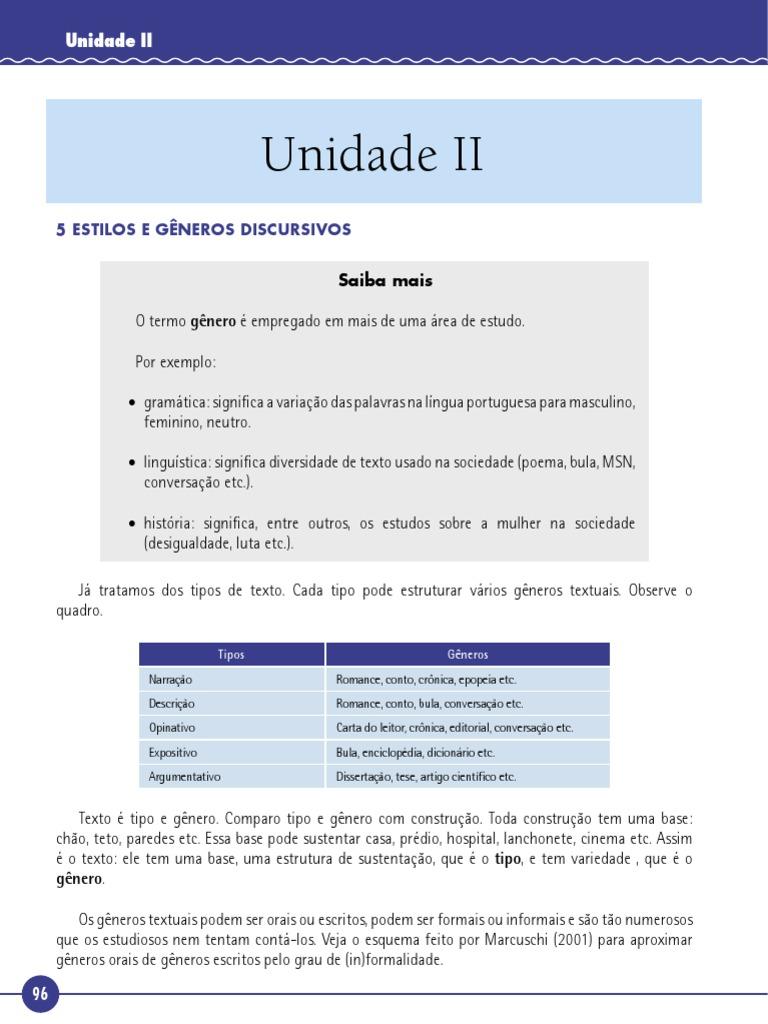 51a99ac73 Interpretacao Producao de Textos Unid II