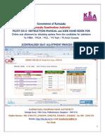 User Manual PGCET 2012