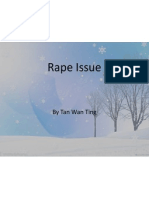 rape issue