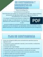 Planes de Contingencia y Procedimientos de Emergencias