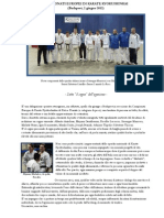 Campionati Europei Di Karate Kyokushinkai - (Budapest, 2 giugno 2012)