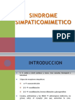 SINDROME SIMPATICOMIMETICO