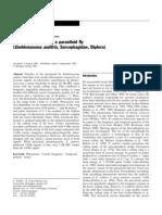 Auditory Behaviour of a Parasitoid Fly