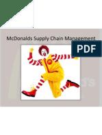 Mcdonalds Supply Chain Management