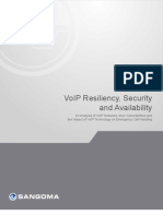 Voip Resiliency Security Availability