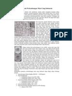 Sejarah Perkembangan Mata Uang Indonesia