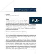 Monitoreo 2011 Urania Fulgens en Honduras