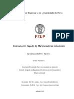 Ensinamento Rapido de Manipuladores Industriais VERSAO PROVISORIA 0