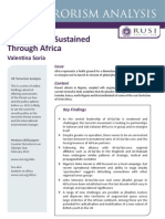 RUSI Feb12 - Global Jihad Sustained Through Africa