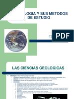 METODOS DE ESTUDIO DE LA GEOLOGIA