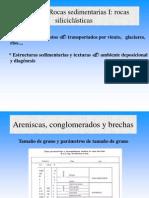 ROCAS DETRITICAS/SILICECLASTICAS