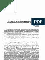 Sistemas de Cultivos, Conceptos