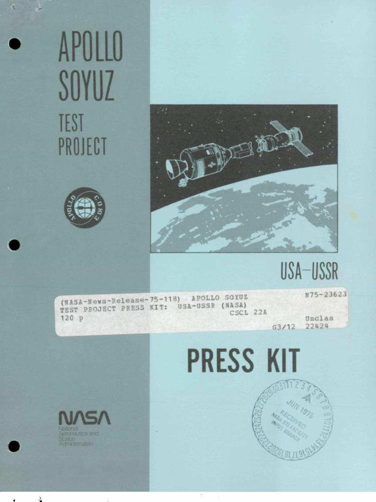 Apollo-Soyuz Test Project | Space Rendezvous | Soyuz (Spacecraft)