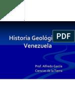 HISTORIA GEOLOGICA DE VENEZUELA