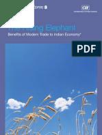 Rising Elephant Benefits of Modern Tradeto Indian Economy