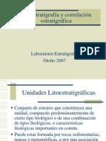 Litoestratigrafia y Correlacion