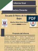 Presentacion Final Practica Docente.