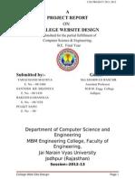 College Website Creation