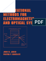 Computational Methods for Electromagnetic and Optical System [Jarem-Banerjee]
