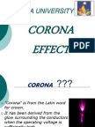 Power System PPT on CORONA