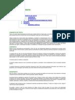 ELEMENTOS DO TEXTO - Base para trbalhos acadêmicos (Classificação)