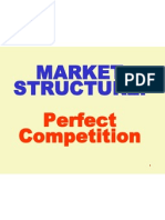 Market Structure-Perfect Competition