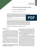 Electrochemical biosensors in pharmaceutical analysis