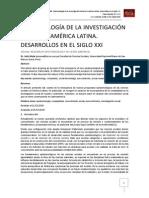 EPISTEMOLOGÍA DE LA INVESTIGACIÓN SOCIAL