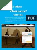 Como crear una cuenta de Twitter - Ezequiel Pez, Sofia Monico y Sofia Alvarez.