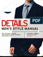 52090321 Details Men s Style Manual the Ultimate Guide for Making Your Clothes Work for You Mantesh